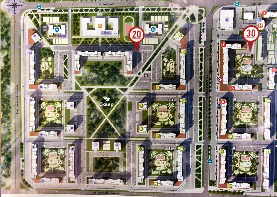Ген план ЖК «Ньютон» ️Записывайтесь на обзорную экскурсию, чтобы узнать подробнее: 216-37-66 Инфраструктура района:…