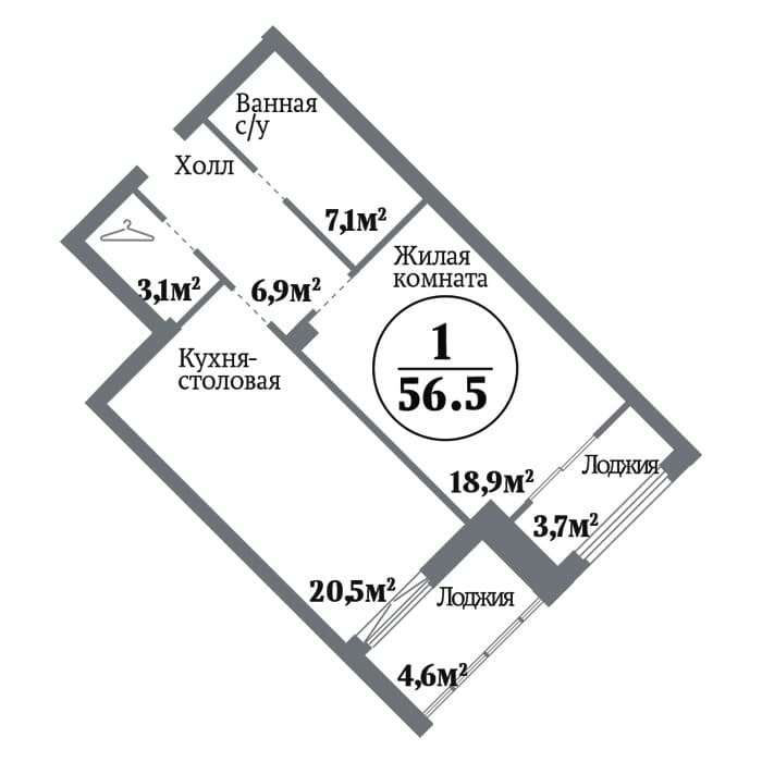 ЖК Ньютон Челябинск планировки дома №20.13