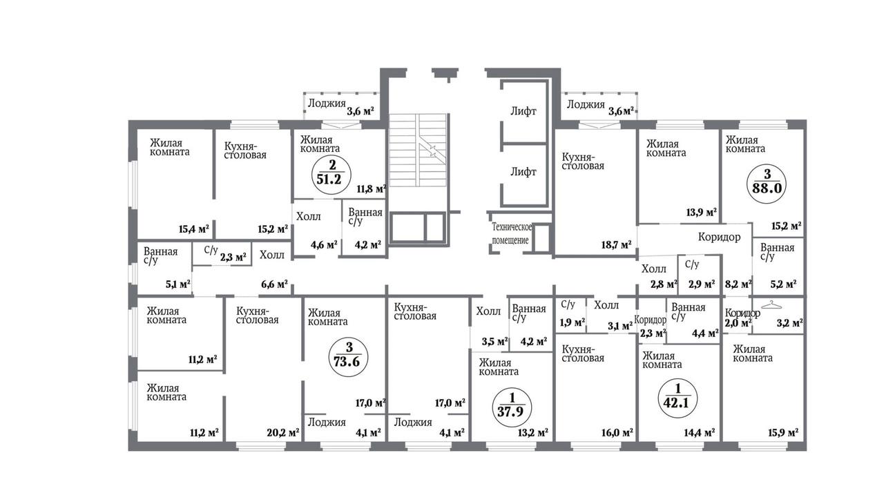 ️В жилом комплексе «НЬЮТОН» вышел в продажу новый индустриальный дом ️ ️ ️ ️…