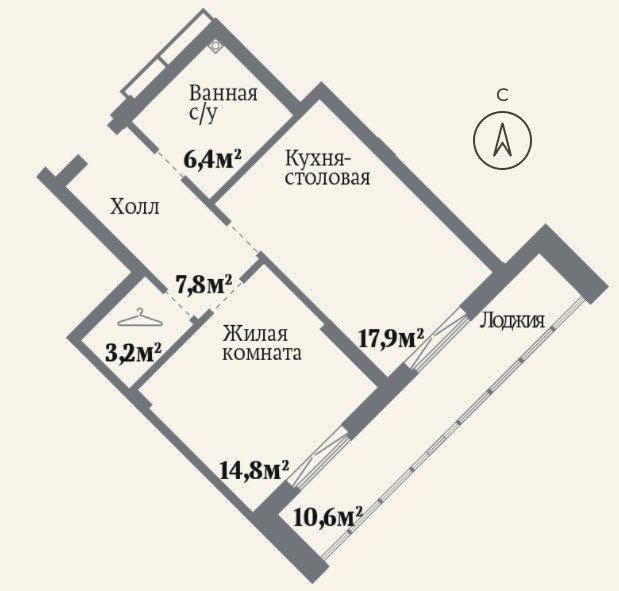 НОВОСТЬ!!!! Старт продаж дома , кирпично-монолитный, с уникальными планировками. Горячие планировки СТУДИЯ+1 только для…